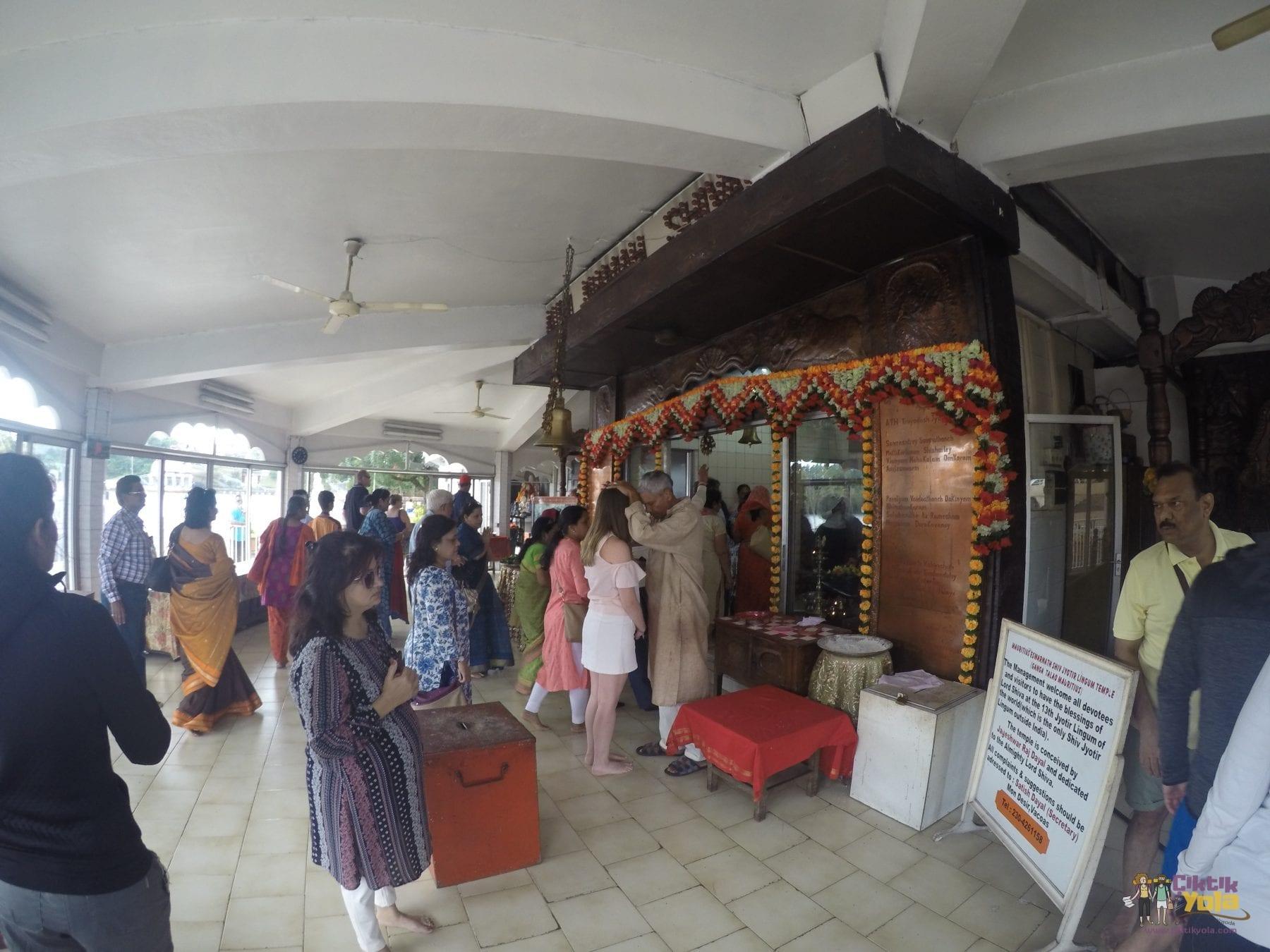 grand bassin ganesha mauritius tapınak hindu