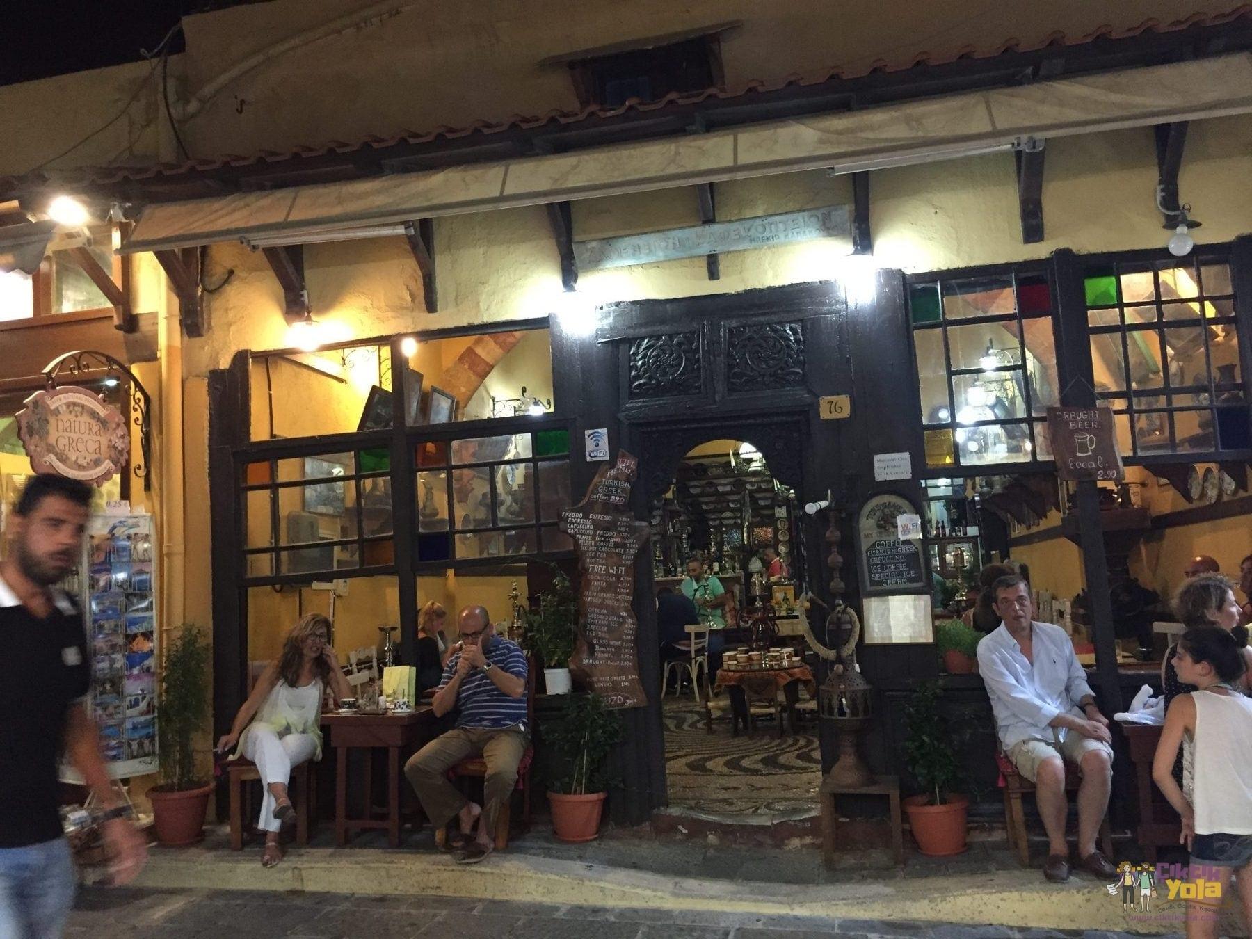 rodos türk kahvesi greek coffee