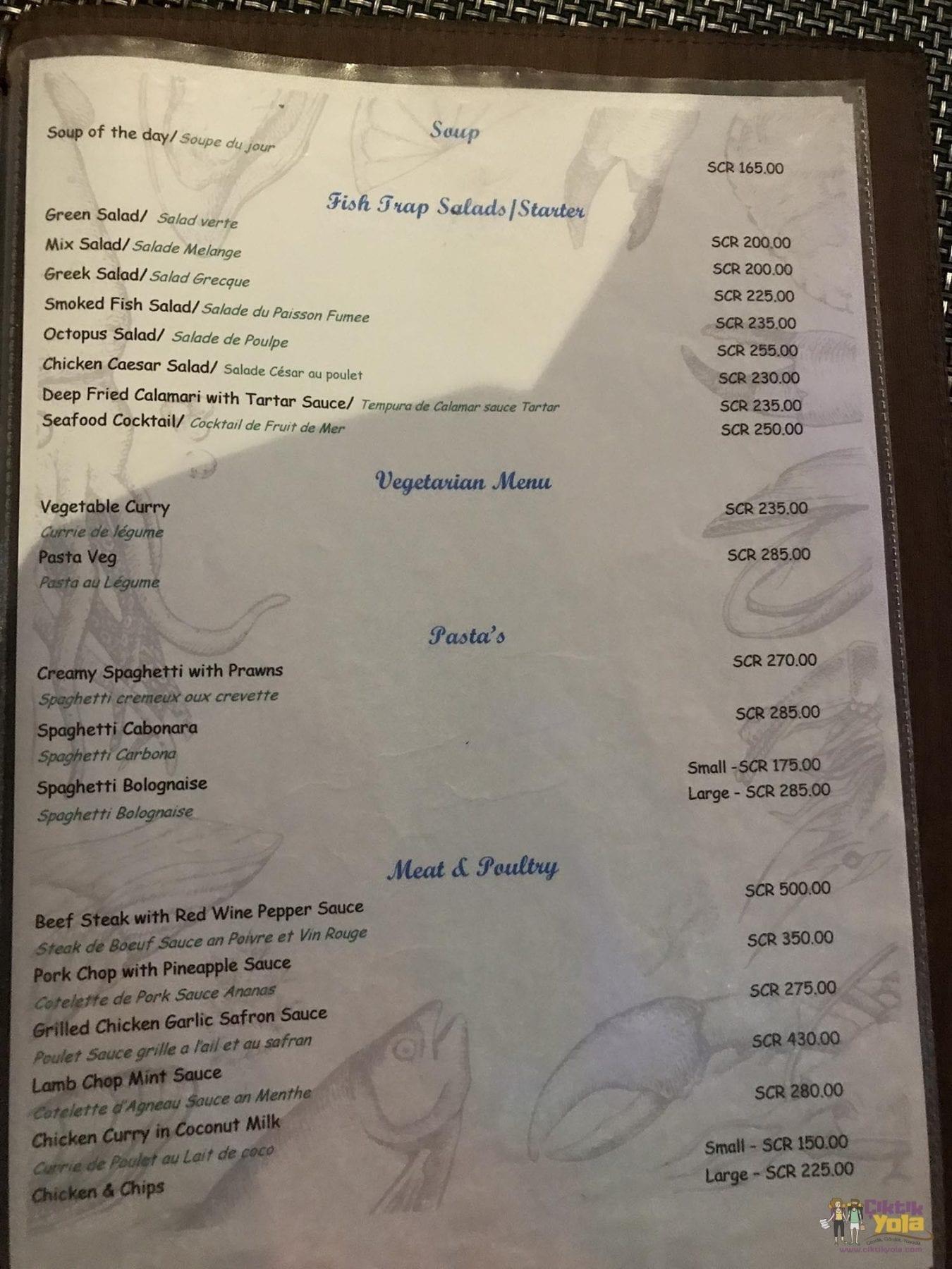 Fish Trap Fiyatlar