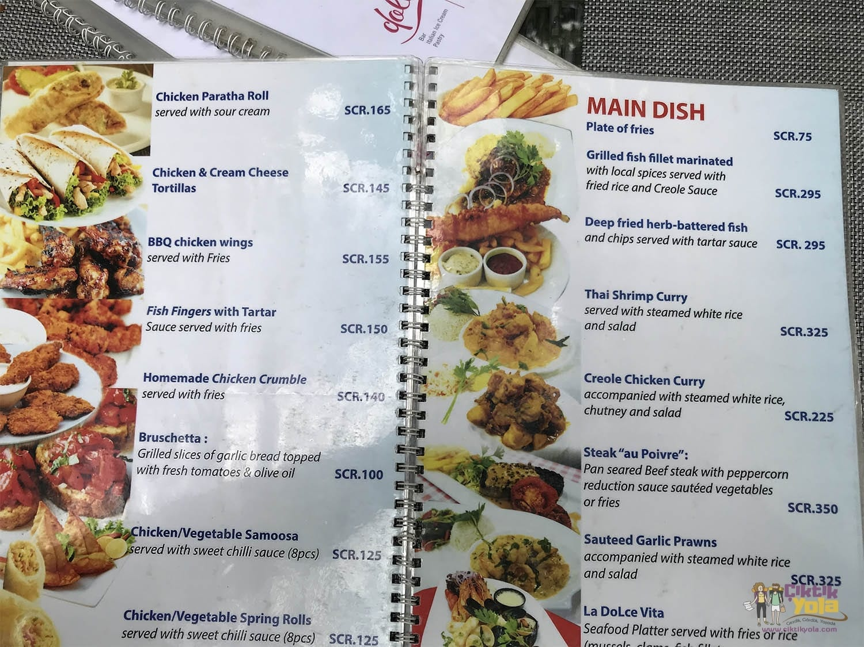 Victoria Yemek Fiyatları - La Dolce Vita