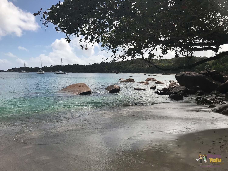 seyşeller praslin plaj