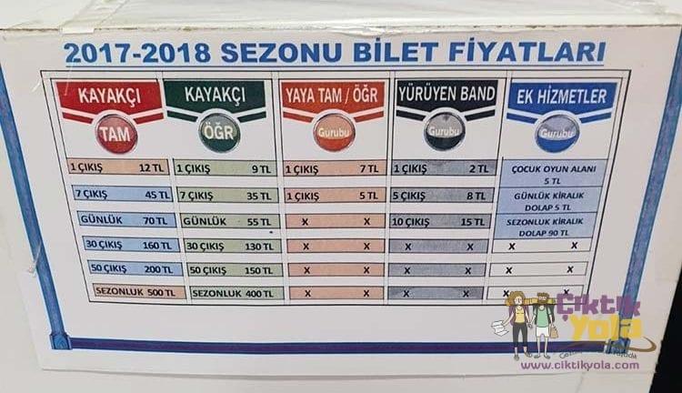 Erciyes Ski-Pass Fiyatları