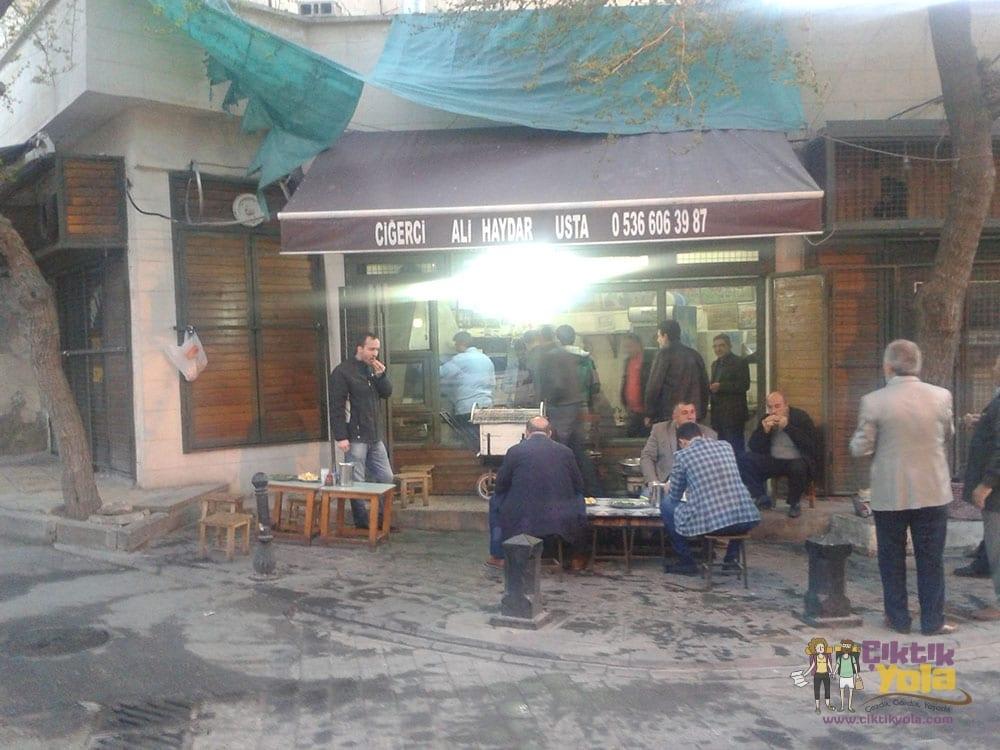 Ciğerci Ali Haydar Usta Gaziantep