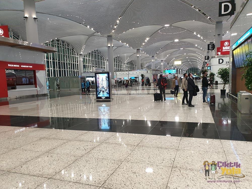 İstanbul Havalimanı İç Alan