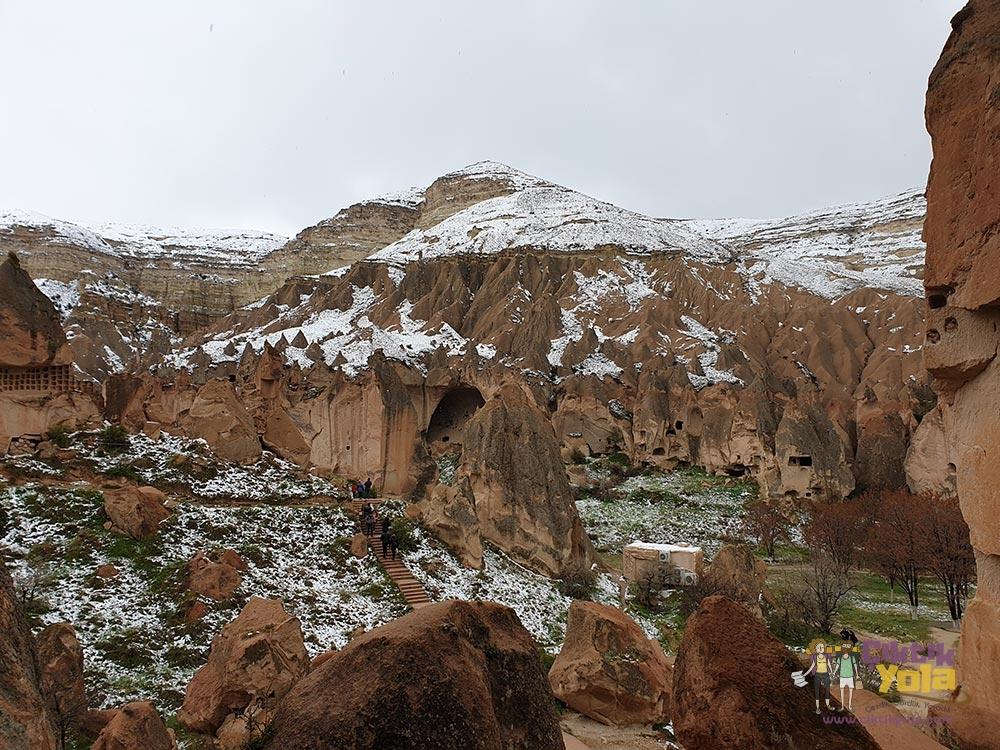 Zelve Açık Hava Müzesi Kapadokya