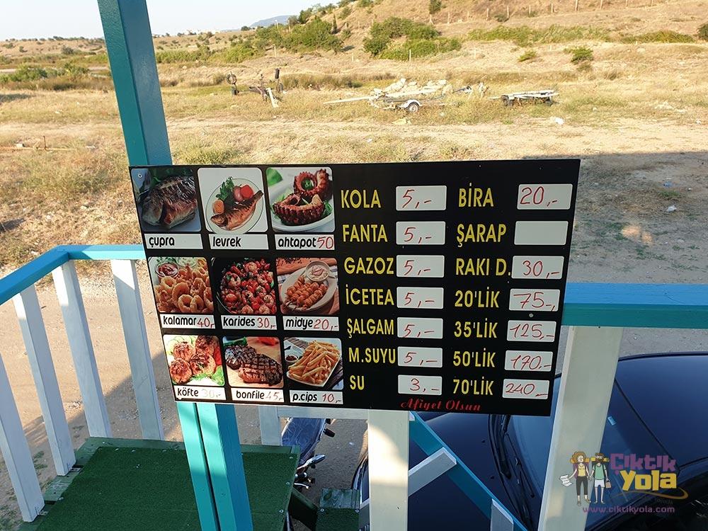 Ada Restaurant Fiyatlar