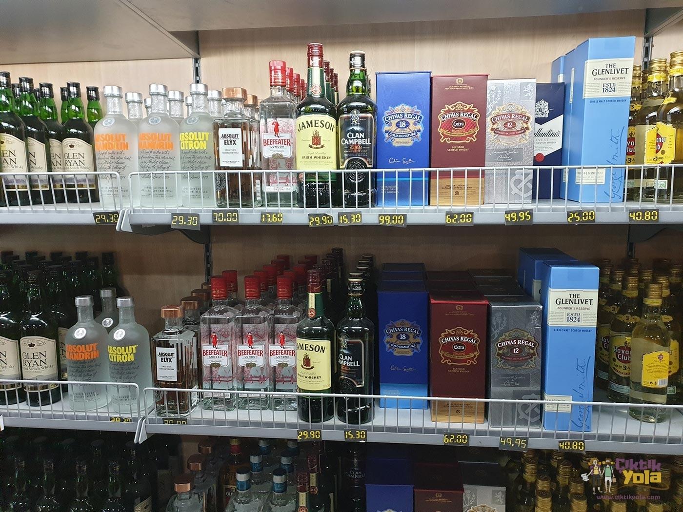 Küba İçki Fiyatları
