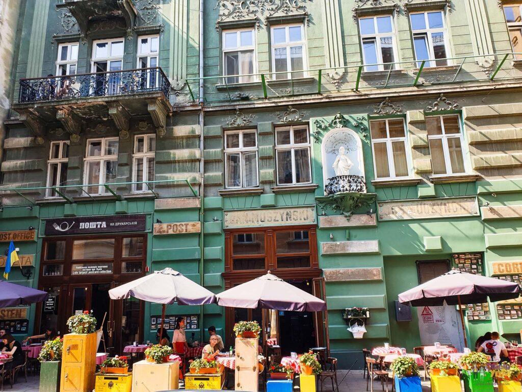 Lviv Virmenska Caddesi