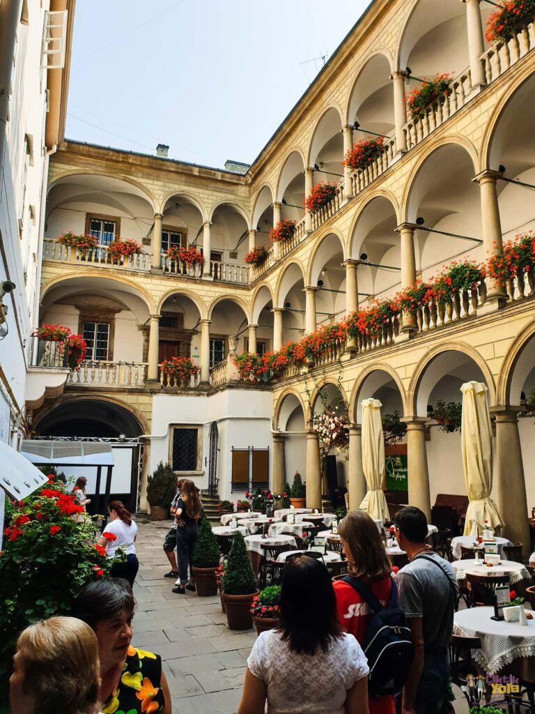 Lviv Italian Courtyard